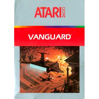 Atari 2600 Vanguard (Cartridge Only) - ATARI