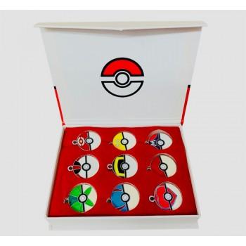Pokémon Charms Pokemon Balls Collectible Box - 9pcs