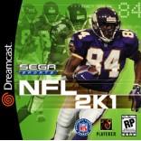 Sega Dreamcast NFL 2K1 - New Sealed Original Print