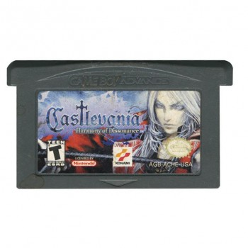 Castlevania Harmony of Dissonance - Gameboy Advance - Game Only