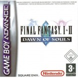 Final Fantasy I & II Dawn Of Souls - Gameboy Advance - Game Only