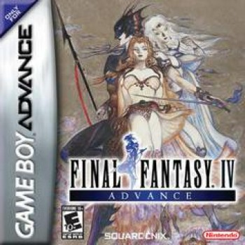 Final Fantasy IV - Gameboy Advance - Game Only