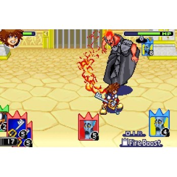 Kingdom Hearts Chain Of Memories - Gameboy Advance - Game Only*