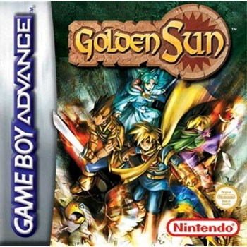 Golden Sun - Gameboy Advance - Game Only