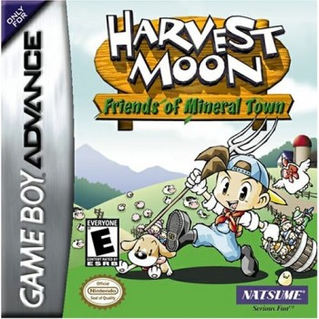 Harvest Moon Friends Mineral Town GameBoy Advance - Game Only*