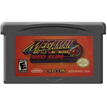 MegaMan Battle Network 4: Red Sun - Gameboy Advance - Game Only*