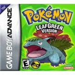 Pokemon Leaf Green - Gameboy Advance - Game Only