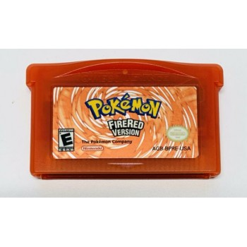 Pokemon Fire Red - Gameboy Advance - Game Only