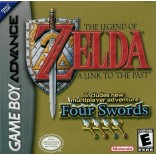 The Legend of Zelda: A Link to the Past Four Swords - Gameboy Advance - Game Only