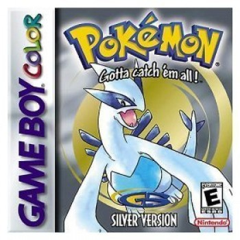 Pokemon Silver GameBoy Color (Game Only)