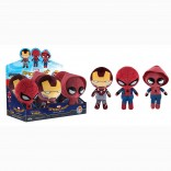 Toy - POP - Plushies - Marvel: Spider-man Homecoming - 6 pc PDQ