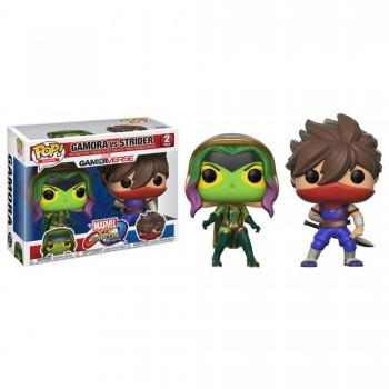 Toy - POP - Vinyl Figure - Marvel vs. Capcom 2Pk - Gamora vs. Strider