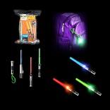 Mini Light-Up Sabers Star Wars Light Sabers 1 Case of 36 pcs
