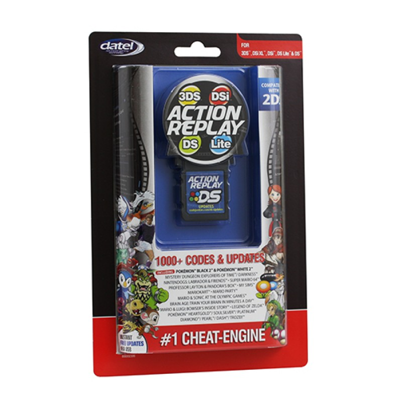 <b>3ds Cheat Codes</b> Action Replay (datel)