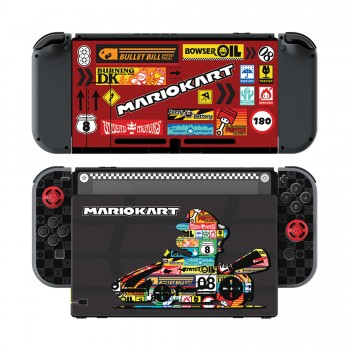 Switch - Protective Films - Play and Protect Skins - Mario Kart Edition (PDP)