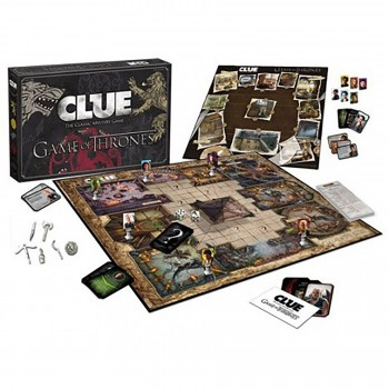 Game of Thrones Clue Board Game