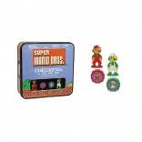 Super Mario 8bit Checkers/Tic Tac Toe Combo