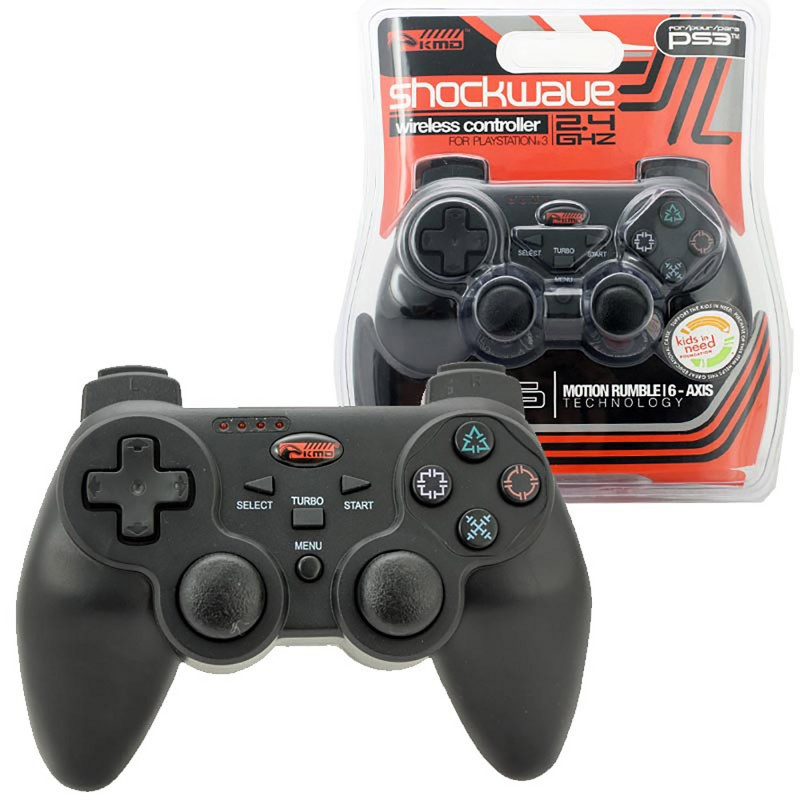 ps3 wireless controller mr6 2 4ghz playstation wireless. Black Bedroom Furniture Sets. Home Design Ideas