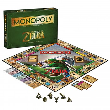 Board Game The Legend of Zelda Monopoly