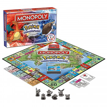 Monopoly Pokémon Board Game - Kanto Edition