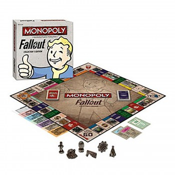 Fallout Board Game Collector's Edition Monopoly