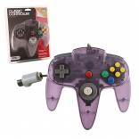 Nintendo 64 Replacement Clear Purple Controller Original Design (TTX Tech)