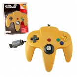 N64 Controller Solid Yellow Original Style Replacement (TTX Tech)