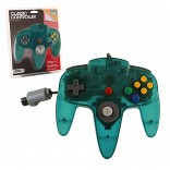 N64 Clear Teal Original Designed Nintendo 64 Controller (TTX Tech)