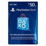 $50 Playstation Network PSN Subscription Card - PSN Live