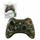 Xbox 360 - Controller - Wireless - Camo - Limited Edition - Green (Microsoft)