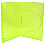 Universal - Media Package - DVD Case - Single - 14MM - Clear Green (Third Party)