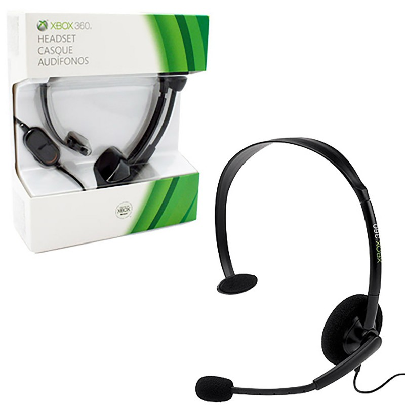 xbox 360 headset wired black new microsoft rh retrogamingstores com xbox one mic wiring diagram xbox 360 headphone wiring diagram