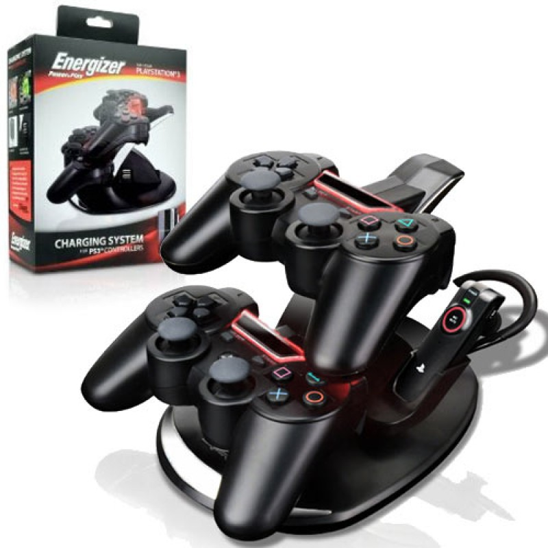ps3 charger energizer charge station for controllers pdp. Black Bedroom Furniture Sets. Home Design Ideas