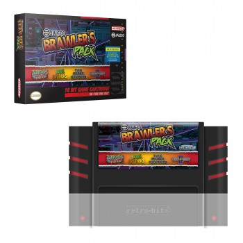 SNES - Software - Jaleco Brawlers Pack