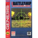 Sega Genesis Super Battleship Pre-Played - GENESIS