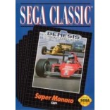 Sega Genesis Super Monaco GP Pre-Played - GENESIS
