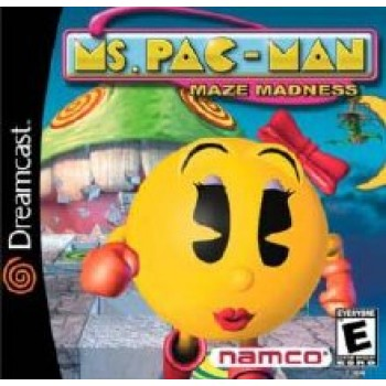 Dreamcast Ms Pac Man Maze Madness
