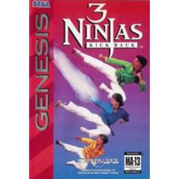 Sega Genesis 3 ninjas Pre-Played - GEN