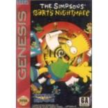 Sega Genesis Simpsons: Bart's Nightmare Pre-Played - GEN