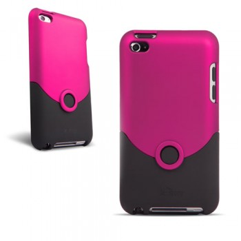 iPod Touch 4G Case Luxe Original Pink/Black (iFrogz)
