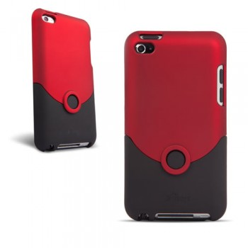 iPod Touch 4G Case Luxe Original Red/Black (iFrogz)