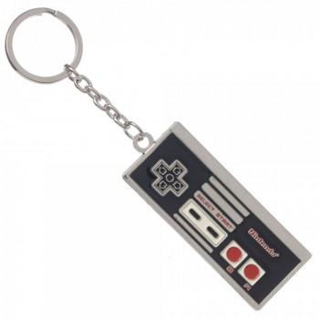Novelty - Keychain - Nintendo - NES Controller Metal Keychai