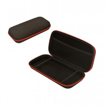 Switch - Case - Premium Travel Case - Black with Red Zipper (KMD)