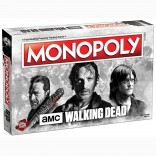 Toy - Board Game - The Walking Dead - AMC - Monopoly