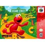 Nintendo 64 Elmo's Letter Adventure