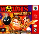 Nintendo 64 Worms Armageddon - N64 Worms - Game Only