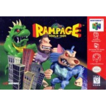 Nintendo 64 Rampage World Tour - N64 Rampage World Tour - Game Only