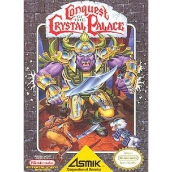 Original Nintendo Conquest of the Crystal Palace Pre-Played - NES