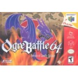 Nintendo 64 Ogre Battle 64: Person of Lordly Caliber (Pre-Played) N64