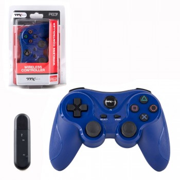 PS3 - Controller - Wireless - 2.4 GHZ Controller - Blue (TTX Tech)